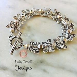 Jewelry - Silver Butterfly Bracelet